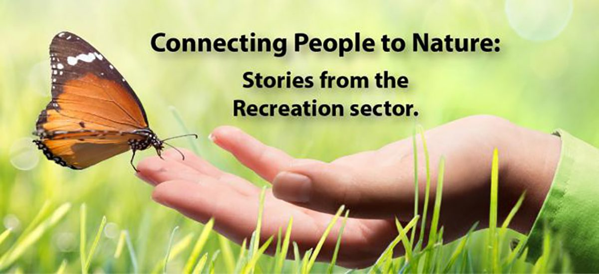 HiN Connecting People with Nature, image of hand in grass